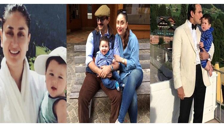 Baby Taimur Holidaying In Switzerland With Saif And Kareena