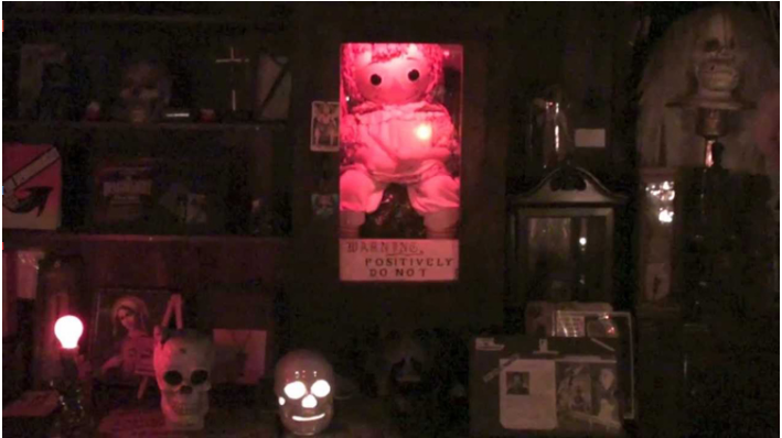 The Doll Of Annabelle Is Really Exists