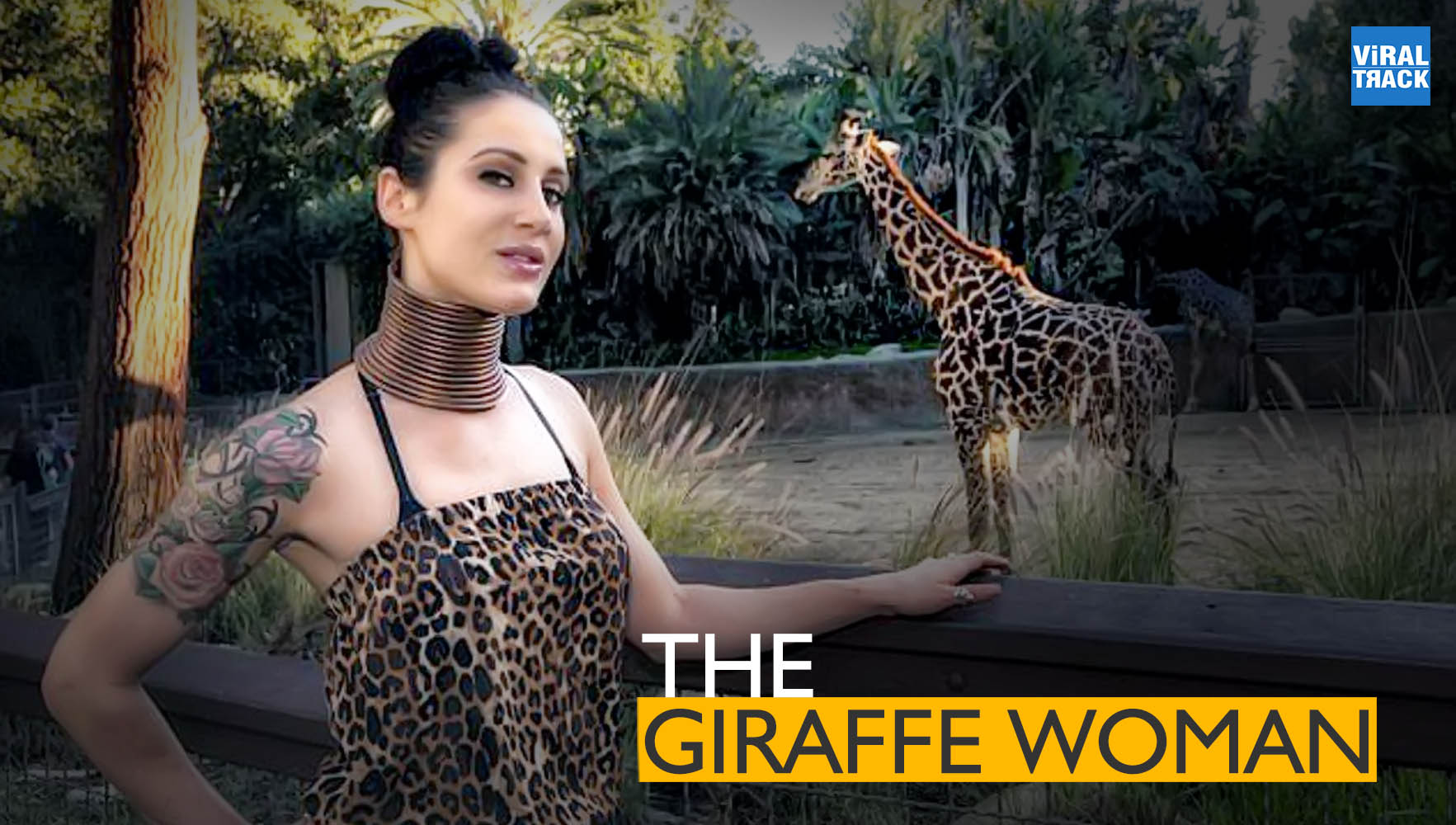 meet the giraffe woman who stretched her neck for 5 years