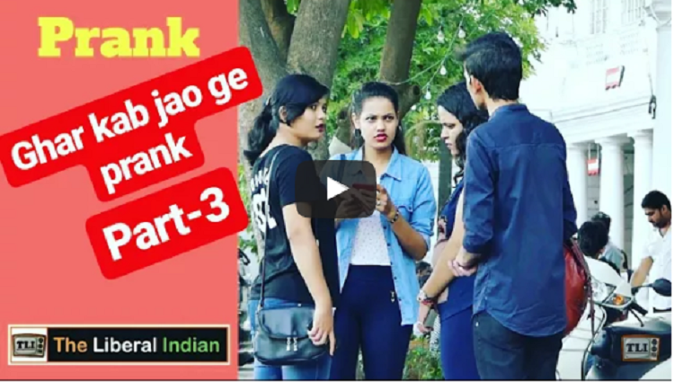 Ghar Jao Go Home Prank Part 3 Pranks in India Comment Trolling The Liberal Indian TLI