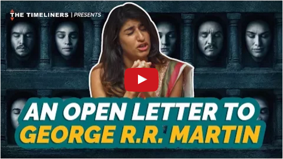 An Open Letter To George R.R. Martin