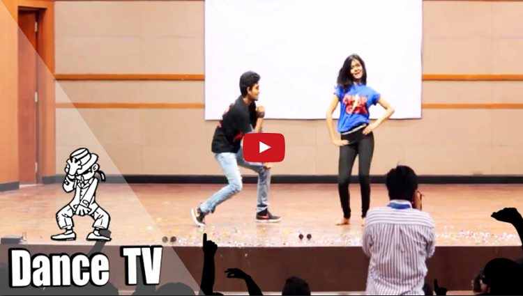 2017 best college dance performance in india VIT College student dance Dance TV