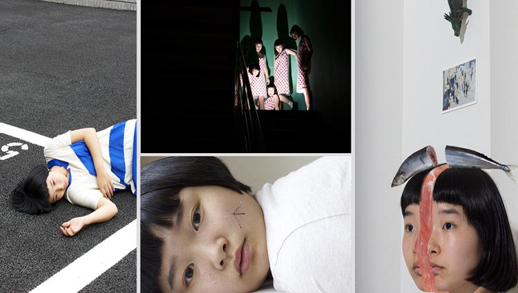 the surreal self portraits of izumi miyazaki