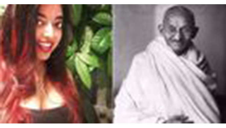 mahatma gandhi great granddaughter