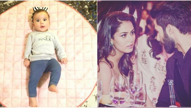 Shahid Kapoor & Mira Rajput celebrate Misha's first birthday