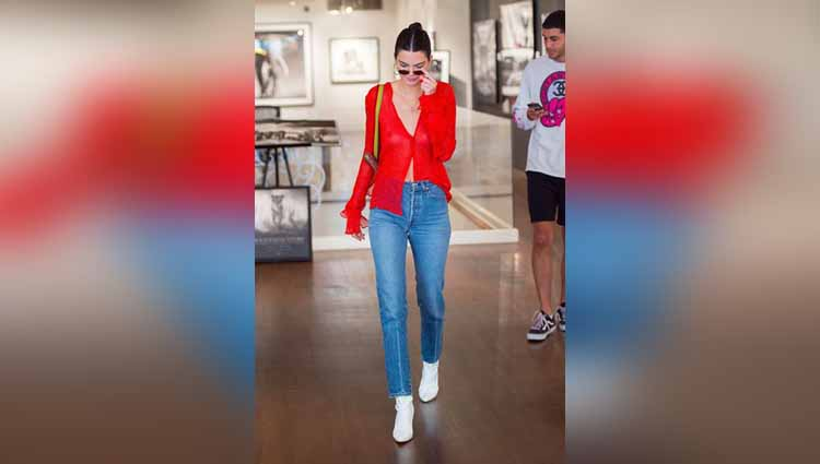 9 Times Kendall Jenner Rocks Showing Off Her Skin Through Sheer Outfits