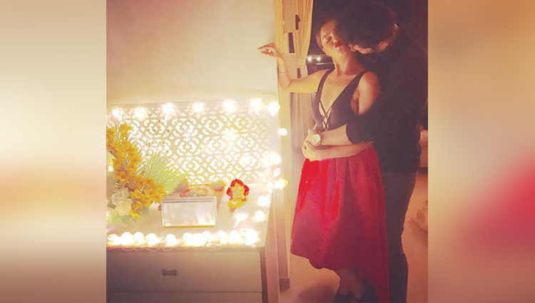 Rubina Dilaik shares a Romantic Photos With Boyfriend