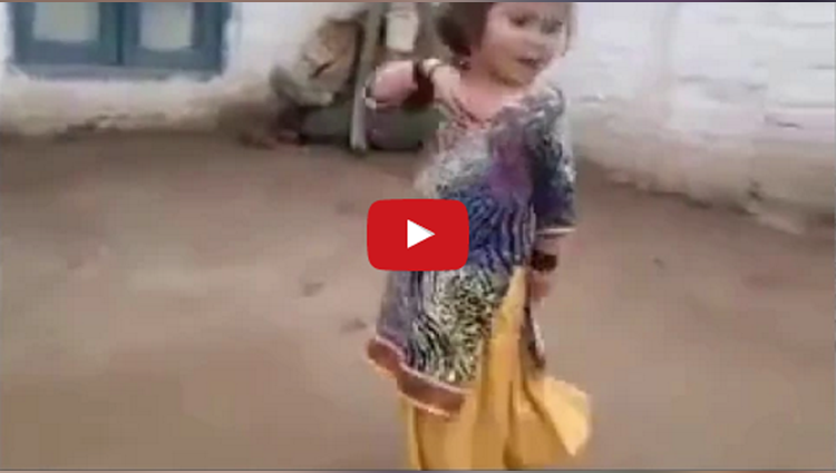 little girl amazing dance video