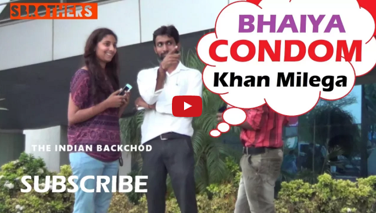 Bhaiya Condom Khan Milega Reaction Pranks In India Pranks in india 2017 Sbrothers Network