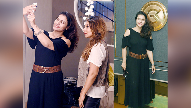 Kajol Spotted At Gauri Khan's Chic Design Store