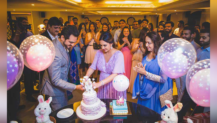 How sweet Sister Ahana throws a secret baby shower for mommy to be esha deol