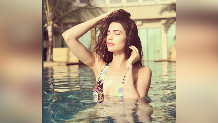 karishma tanna swimsuit photo