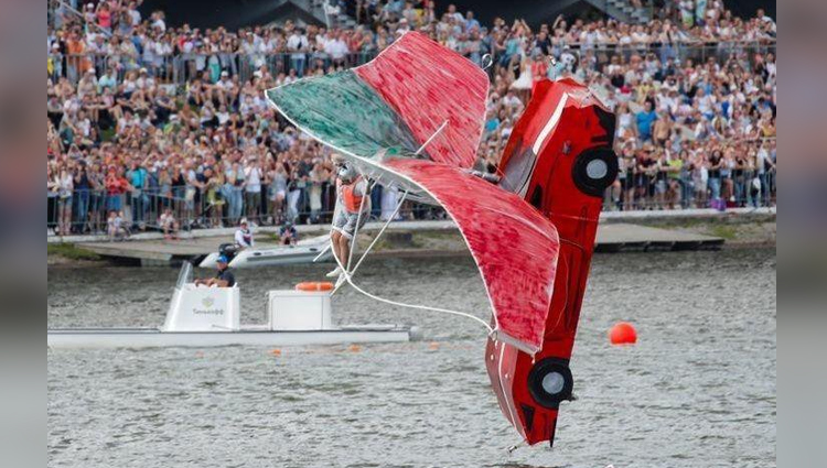 For the rest of us, there's the Red Bull Flugtag