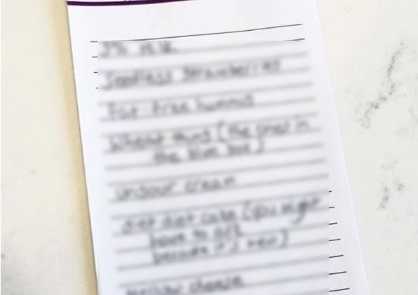 Furious wife sends her lazy husband off with a fake shopping list