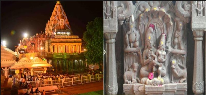 Nagchandreshwar Temple In Ujjain Opens Once Every nag panchami