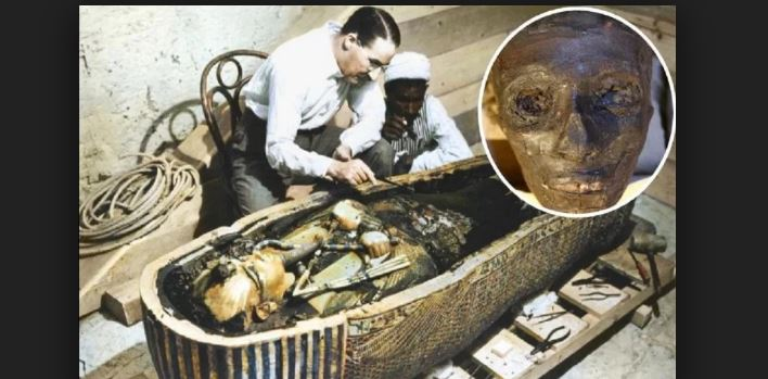 Mysterious Mummy Of Egypt King Tutankhamun Tomb