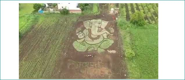 Youngsters in Maharashtra village create ecofriendly Ganesh murti