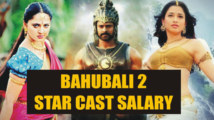 bahubali starcast salary