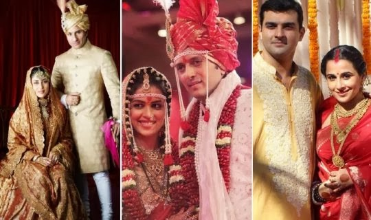 wedding pictures of famous bollywood celebrities