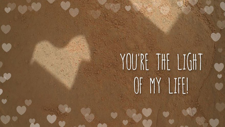 romantic valentine cards from mars