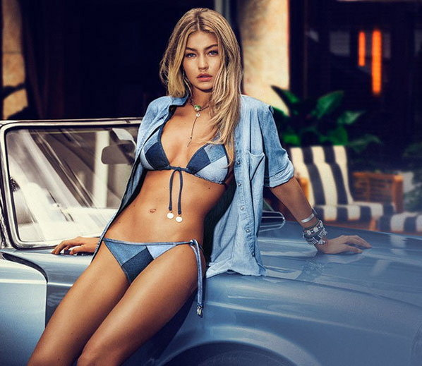 Gigi Hadid built by supermodel hot and bold photoshoot