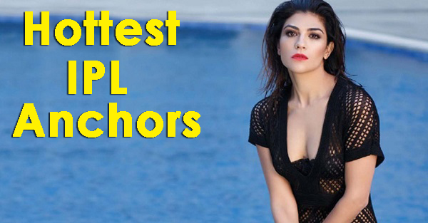 IPL hot female anchors
