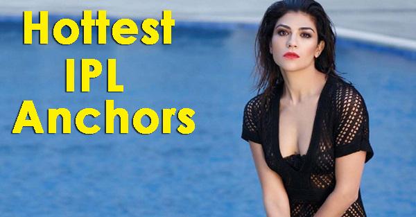 IPL hot female anchors