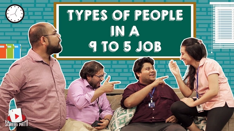 types of People in a 9 to 5 Job
