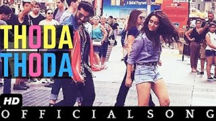 Thoda Thoda new song of Half Girlfriend