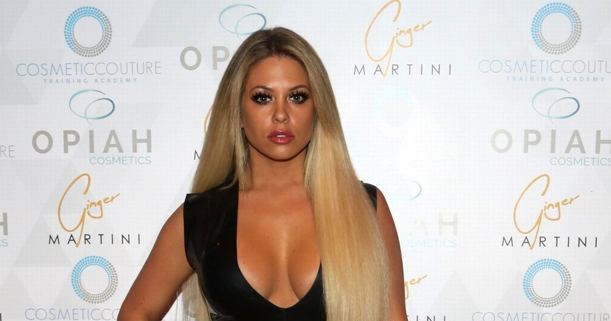 bianca gascoigne share a video of her Bum Lift Treatment