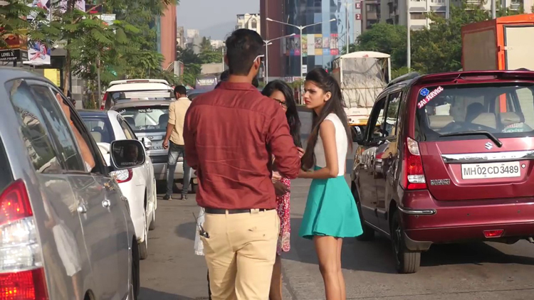 Dropping CONDOM In Front Of Girls Pranks In India Must Watch