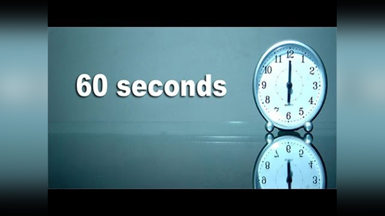 what happen in every 1 seconds around the world