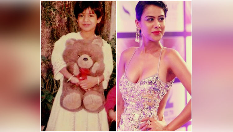 TV Actress share her Childhood Photos