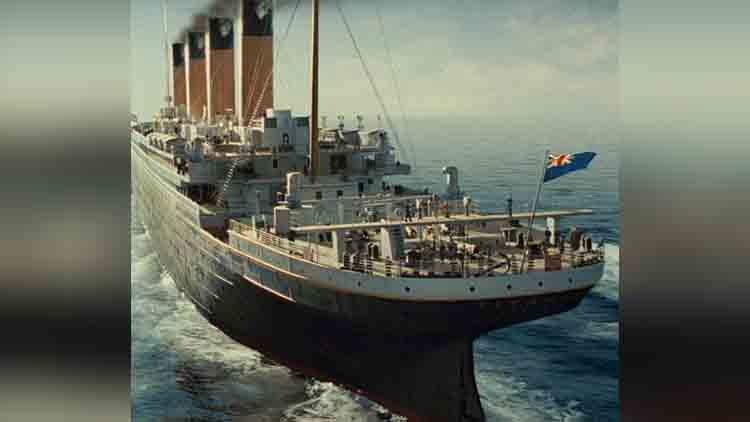 Titanic Sank In The North Atlantic Ocean viral pictures