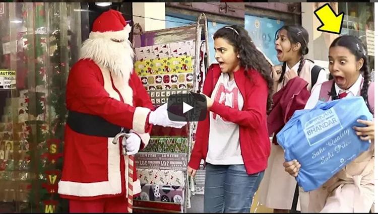 Scary Santa Claus Prank Christmas Special BOB Raj