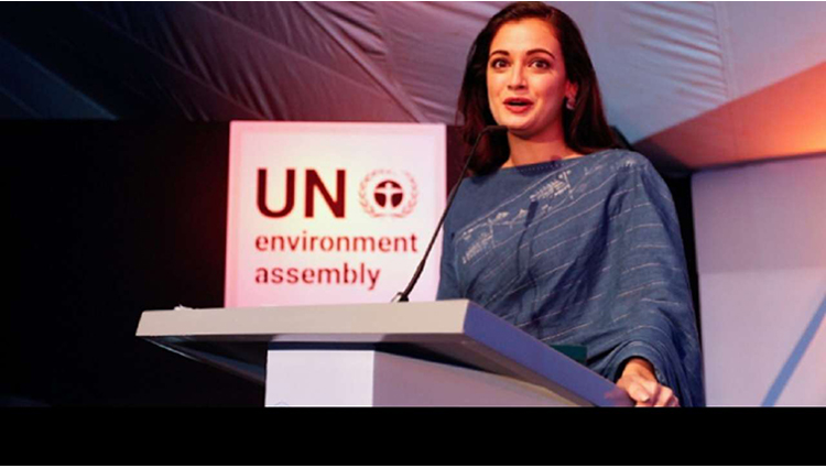 UN Goodwill Ambassador Dia Mirza does not use sanitary napkins