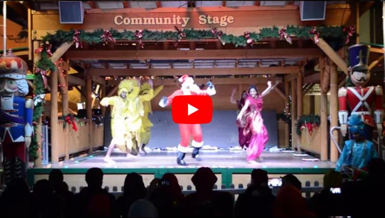 Bhangra Empire Christmas in the Park 2013 Santas Return