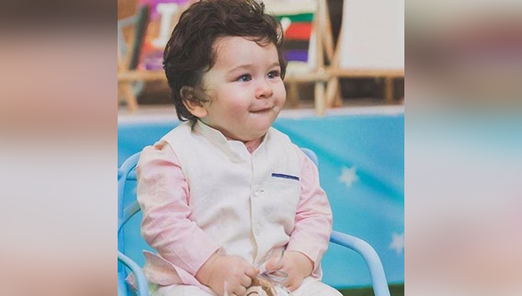 taimur ali khan birthday celebration photos