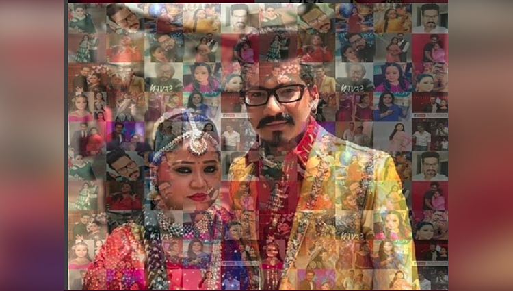 Bharti Singh And Haarsh Limbachiyaa First Pic After Wedding