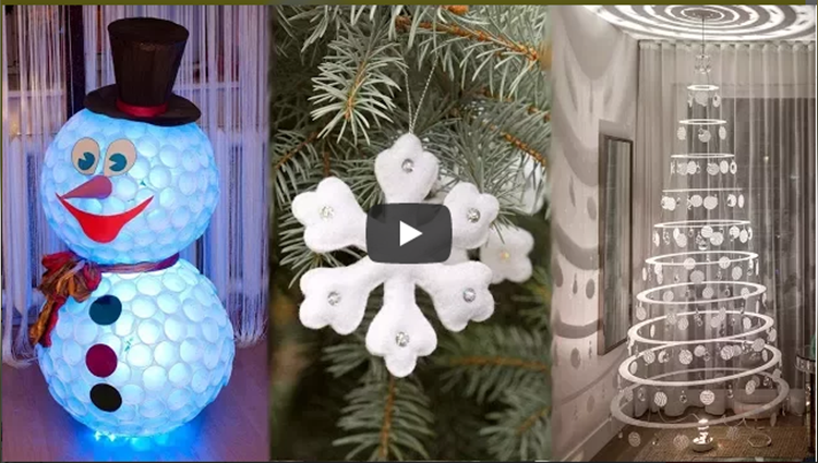 DIY ROOM DECOR 20 Easy Crafts Ideas for Christmas Christmas Decorations