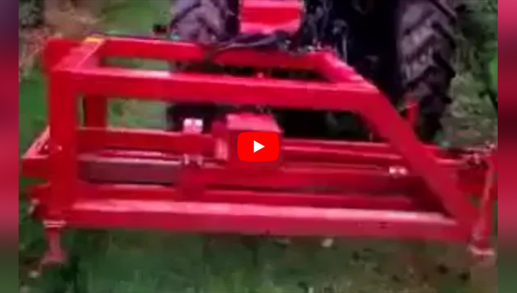 fruit picking tractor