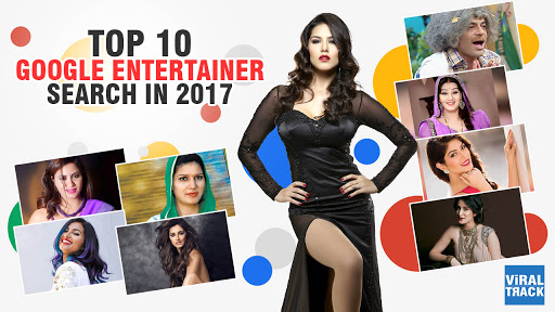 google report of year in search for top 10 entertainers