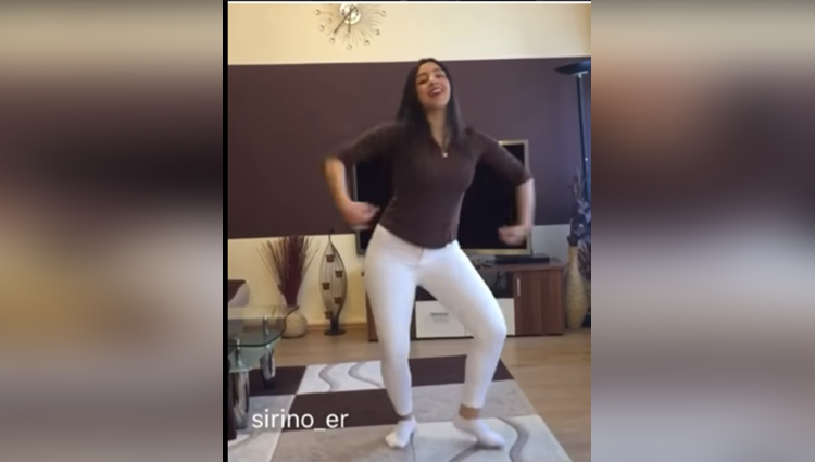dance video viral on main tera boyfriend song