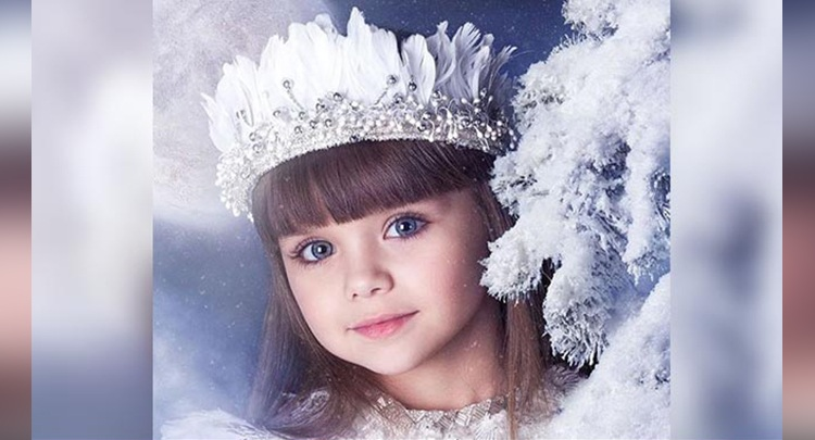 six year old model dubbed the most beautiful girl in the world