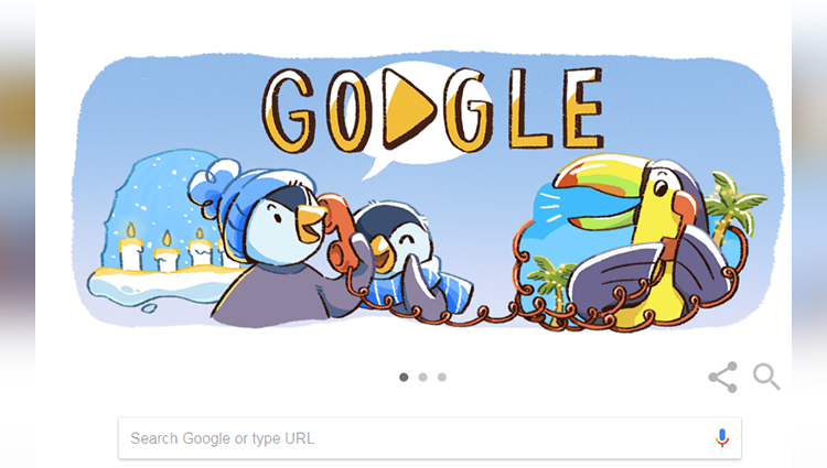 Google Doodle marks the beginning of December global festivities reveals its concept to mark the holidays this year