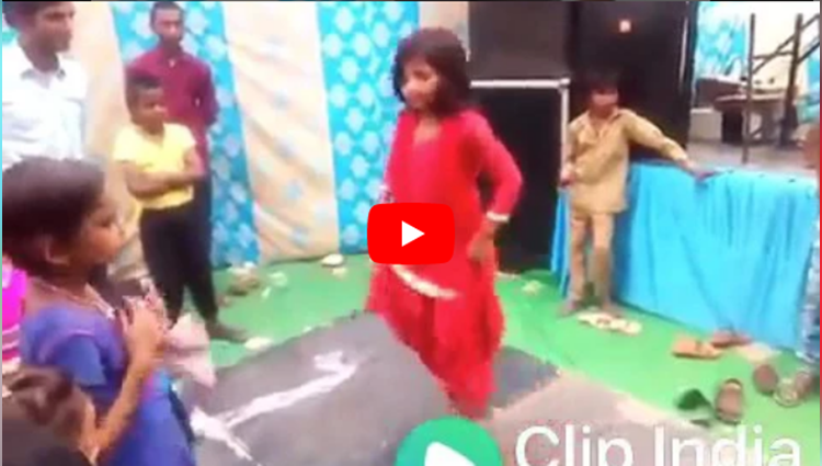 Little girl dance like sapna chaudhary