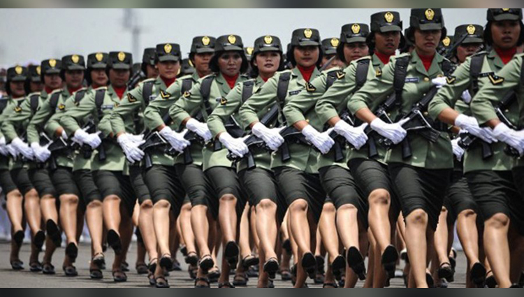 virginity test in indonesia for selection of police