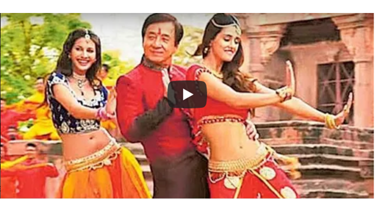 jackie chan dance on jimmiki kammal viral video