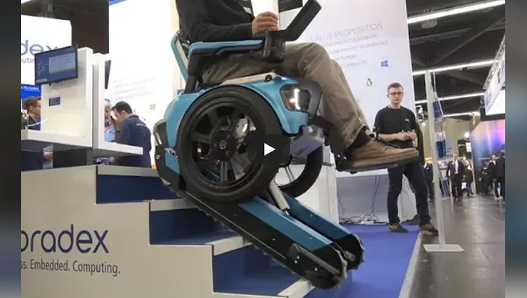the stairclimbing wheelchair