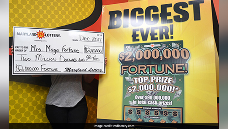 woman wins 2 million lottery jackpot
